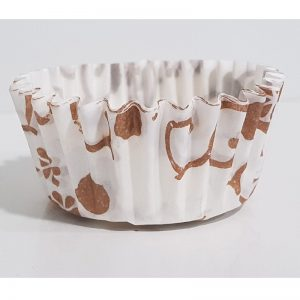 Cream Floral Cupcake & Muffin Liner