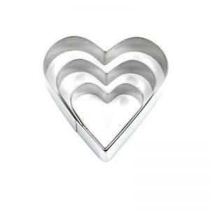 Cutter Heart Shaped Set of 3