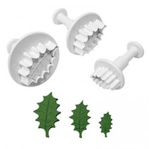 Plunger Cutter Holly Leaf