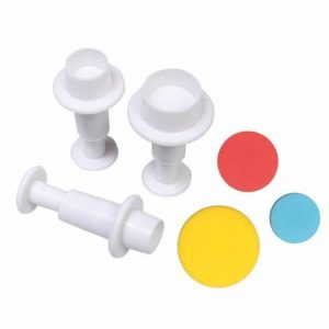 Plunger Cutter Round Shape Set of 3 Pieces